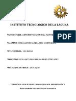 Concepto y Aplicacion de La Conservacion...