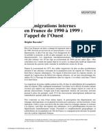Migración francesa 1995