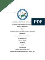 Tarea v de Historia Del Derecho y Las Ideas Polistica