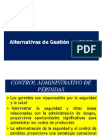 Alternativas de Gestión Seguridad y Salud en el trabajo