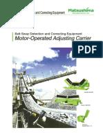Motor-operated Adjusting Carrier.1407