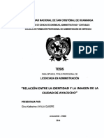 Ayacucho Identidad