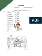 Evaluación de Inglés