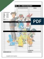 Ficha Pokémon