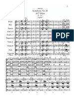 Mozart W. A. (). Symphony No. 41 in C Major (K. 551) Jupiter WITH BAR NUMBERS.pdf