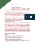 Presentación de Estudios Cualitativos en Revistas Científicas