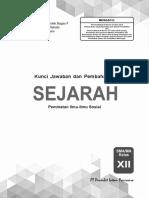 01 Kunci Pr Sejarah Pem 12 Edisi 2019