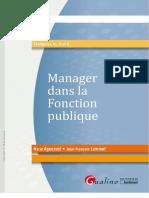 Manager Dans La Fonction Publique