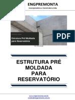 Estrutura Pré Moldada Para Reservatório