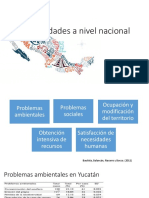Necesidad mundial nacional y del estado de Yucatán