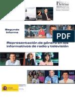 Representación de Genero en Informativos de Radio y Tv