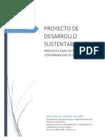 Proyecto de Desarrollo Sustentable