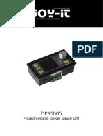 Manual DPS5005