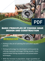 Basic Principles of Fishing Gear Design