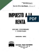Impuesto a La Renta (Ramon Chuman R.)
