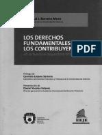 Los derechos fundamentales de los contribuyentes (Cristobal J. Borrero M.)