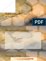 Thermal Physics-latent Heat