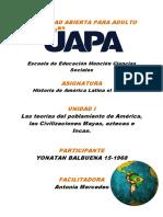 Historia de Americana y el Caribe