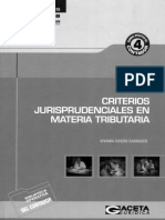 Criterios Jurisprudenciales en Materia Tributaria (Viviana Cossio C.)