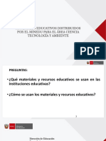 Uso Pedagogico Materiales Educativos Cta