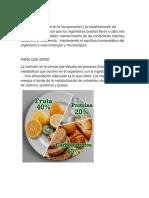 La Nutricion En SSG-ST