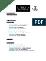 RUTINA CDC CUERPO DE CAMPEONES