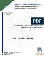 0502 - Fase 5 Informe de Práctica