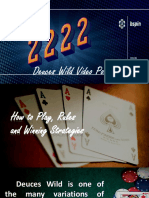 Rules of Deuces Wild Video Poker