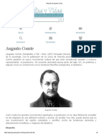 Biografia de Augusto Comte