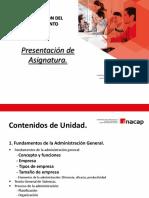 Fundamentos de La Administracion General.