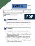LKPD Intel Tenaga 1 Fasa