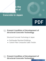 Research on the Development of Prestressed Concrete in Japan (1)