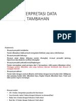 Interpretasi Data Tambahan