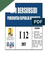Stiker Rumah Subsidi