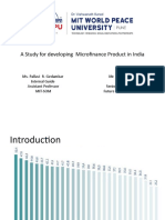 SIP Presentation on MSME