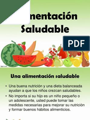 dieta balanceada para adultos pdf