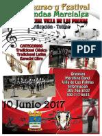"""II Festival y Concurso de Bandas Marciales """"Noble y Leal Villa de Las Palmas"""" Purificacion Tolima"""