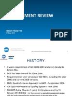 3. Herny Prasetya - Management Review