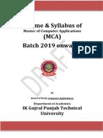 25-3-19MCA 1st Yr Compiled Syllabus