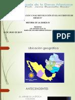 La Danza y La Revolución Mexicana