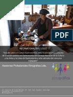 Estudio de Campo Gastronómico Chileno