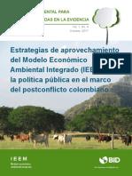 Modelo economico ambiental integrado
