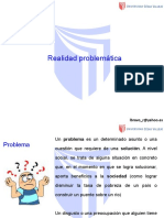 REALIDAD PROBLEMÁTICA - TESIS