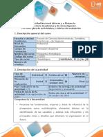 Guía de Actividades y Rúbrica de Evaluación Unidad 1-Fase 2 Aplicar El Método Mic Mac Para La Empresa Seleccionada
