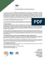 Contrato de Agenciamiento de Carga Internacional Coltrans