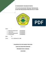 Tugas Management Keuangan Madya Kelompok i