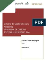 Sistema de gestión social y ambiental