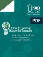Guia y Rubrica Contexto de La Practica Pedagogica y Educativa.