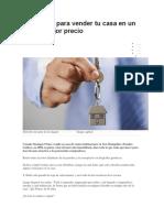 secretos para vender tu casa facil y rapido