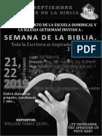 semana de la biblia